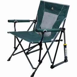 Portable Roadtrip Rocker Outdoor Rocking Chair Built-in Beve