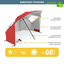 Portable Sun Weather Shelter Polyester 8-foot Canopy 190 D S
