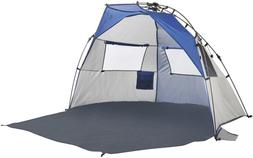 Lightspeed Outdoors Quick Cabana Beach Tent Sun Shelter, Blu