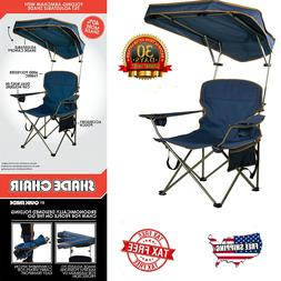 Quick Shade Camping Chair Outdoor Sun Canopy Folding Portabl