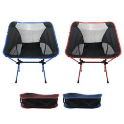 Red/ Blue Camp Camping Portable Folding Chairs Picnic Hiking