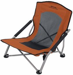 rendezvous folding chair camping outdoor sporting rust