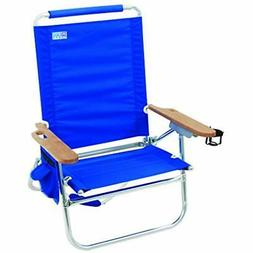 "Rio Brands Beach Bum Chair, Blue Sports "" Outdoors"
