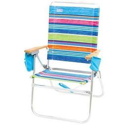 "Rio Chairs Beach Hi-Boy High Seat 17"" Folding Sports Outdoor"