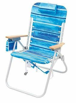 RIO Gear 4-Position Hi-Boy Beach Backpack Chair