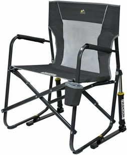 rocker mesh chair outdoor camping freestyle portable