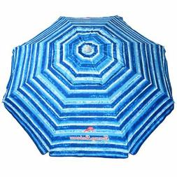 Tommy Bahama Sand Anchor Beach Umbrella SPF 100 Sun Protecti