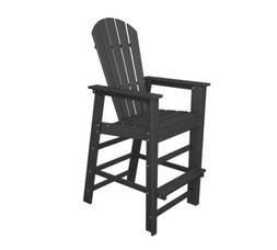 POLYWOOD SBD30GY South Beach Bar Chair/Stools in Slate Grey