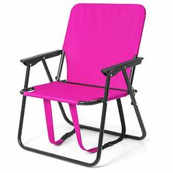 Best Choice Products 12in Height Seat Backpack Folding Chair