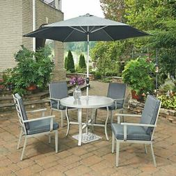 Home Styles South Beach 7 Piece 42 in. Round Outdoor Dining