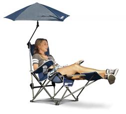 Sport-Brella Recliner Chair 3-Position W/Full Coverage Umbre