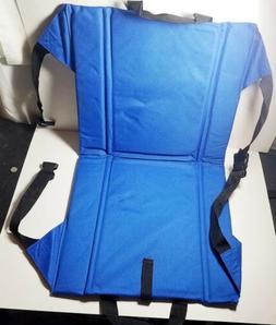 SPORTS SEAT Folding Padded Travel Chair Stadium Beach Cushio
