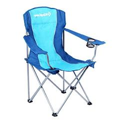 KingCamp Folding Camp Chair Quad Steel Frame Padded with arm