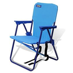 JGRC Kids Beach Chair with Backpack Strap, Small,Colors May