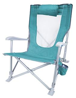 GCI Outdoor Waterside Sun Recliner Folding Beach Chair