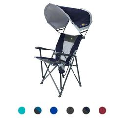 GCI Outdoor SunShade Eazy Chair Personal Shade Canopy Adjust