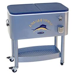 RIO Gear Tommy Bahama The Entertainer 77 Quart Steel Rolling