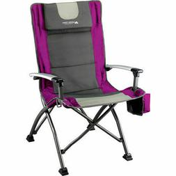 Ultra High Back Folding Quad Camp Chair