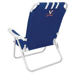 University of Virginia Monaco Beach Chair Blue