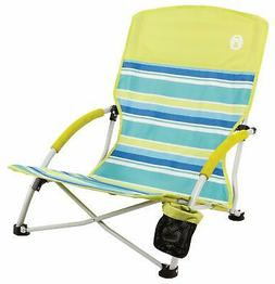 Coleman 2000019265 Beach Deluxe Low Sling Citrus Chair
