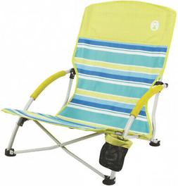 Coleman Utopia Breeze Multicolor Folding Beach Sling Chair