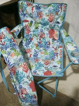 Vera Bradley SHORE THING Bag Chair BEACH Pool SPORTS Outdoor
