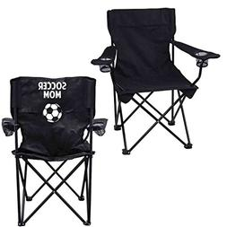 VictoryStore Outdoor Camping Chair - Soccer Mom Black Foldin