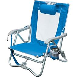 GCI Outdoor Waterside Bi-Fold Slim Compact Beach Chair