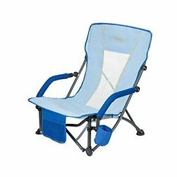 #WEJOY Beach Chair Low Sling Folding Lounge Cooler Chair Mes