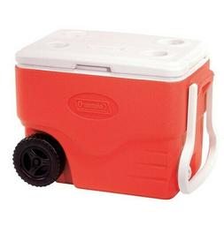 Coleman 40 qt. Wheeled Cooler with Beverage Tray