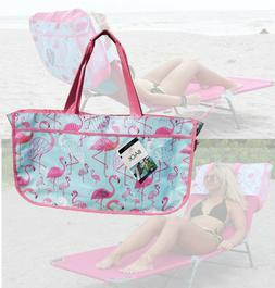 Worlds 1st Tote Beach Bag that easily slips over the back of