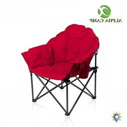 Xl Camping Chair Beach King High Portable Adults Folding Ove